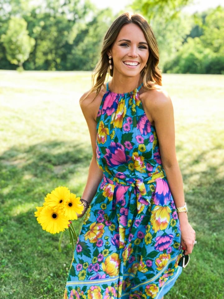Floral Birthday Dress-17