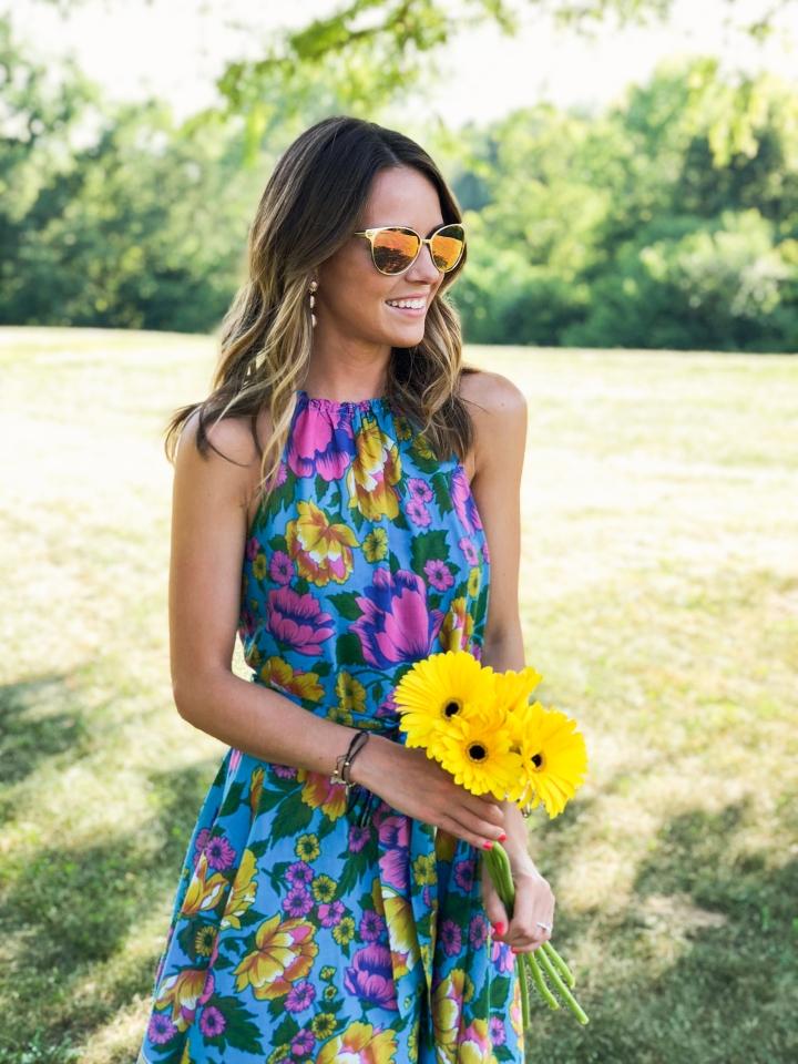 Floral Birthday Dress-36